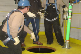 Confined Space Rescue & Self Contained Breathing Apparatus (S.C.B.A)