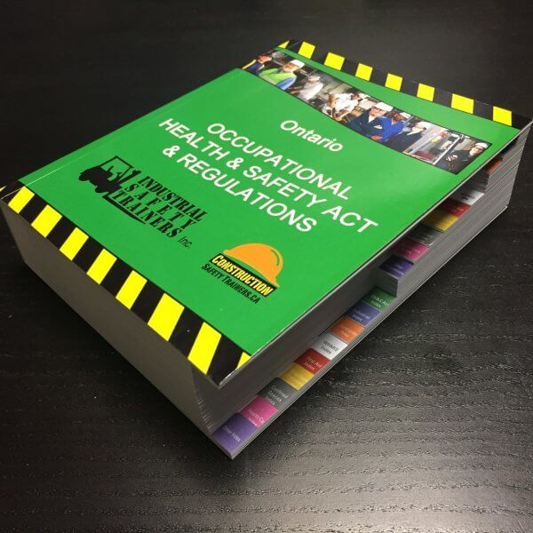 Occupational Health and Safety Act and regulations book purchase